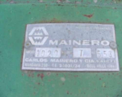 Girasolero Mainero 1020 (10 a 70) con Carro de UN Eje