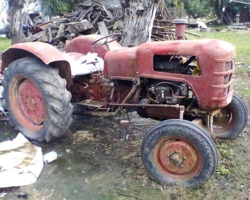 Permuto X Ieimplemento Tractor Fahr D 177