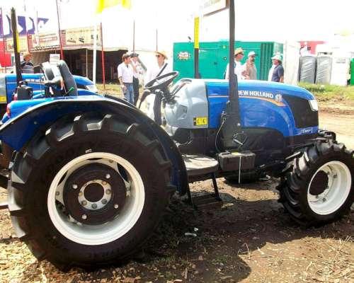 Tractor New Holland Td85f Plataformado
