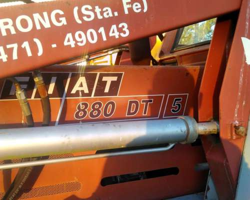 Fiat 880/ 5 DT con Pala Frontal Exelente Estado