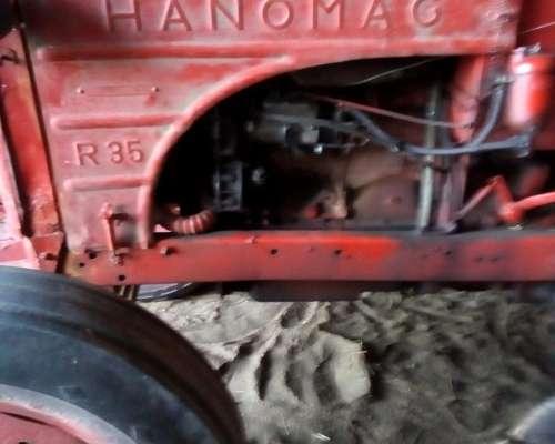 Tractor Hanomag 35 con Motor Perkin 4