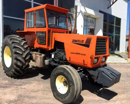 Tractor Zanello 220 Cubiertas 23,1 X 30
