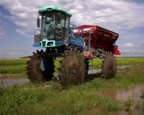 Fertilizadora Syra Montada (sobre Pulverizador o Camión)