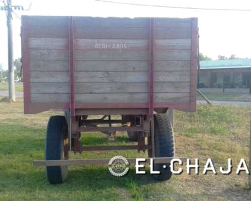 Acoplado Rural 6 TN Rodado 900-20.-