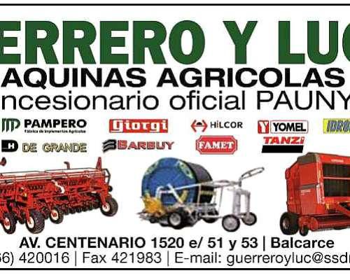 Extractora Mainero 2330 Nueva, Disponible