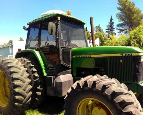 Tractor John Deere 7500 año 1997