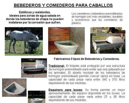 Bebederos / Comederos Esquineros para Boxes