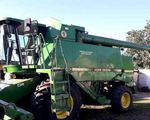 John Deere 9600, Plat 30 Pies, Doble Traccion