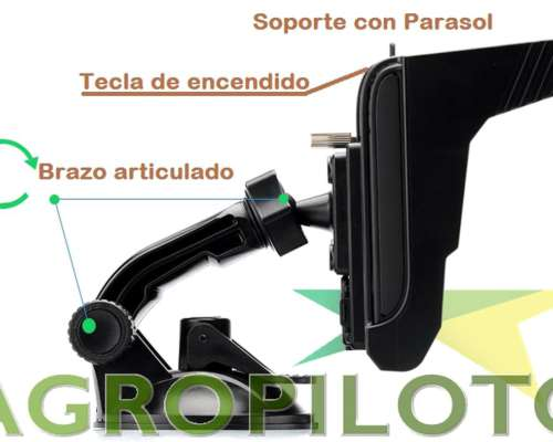 Nuevo Agropiloto G-550 Gnss