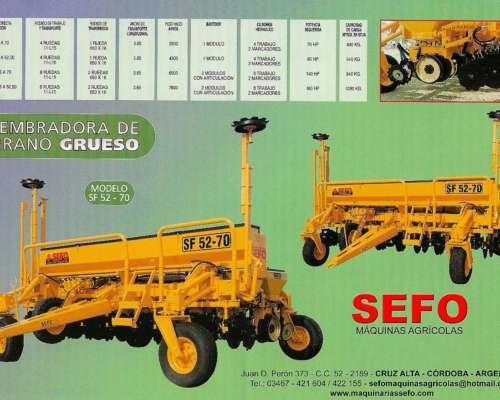 Sembradora de Grano Grueso - Sefo