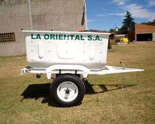 Acoplado Cafito Mod. 450 - 1.000 1.300 Linea Blanca Termico
