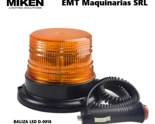 Baliza LED 18w Ultra Visible Marca Miken
