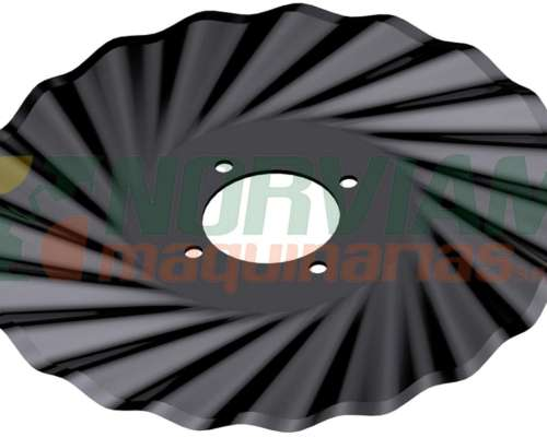 Cuchilla Turbo 20 Ondas 17 X 4 Exp. - Ingersoll
