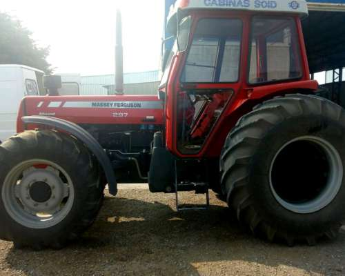 Tractor Massey Ferguson 297 - año 2007