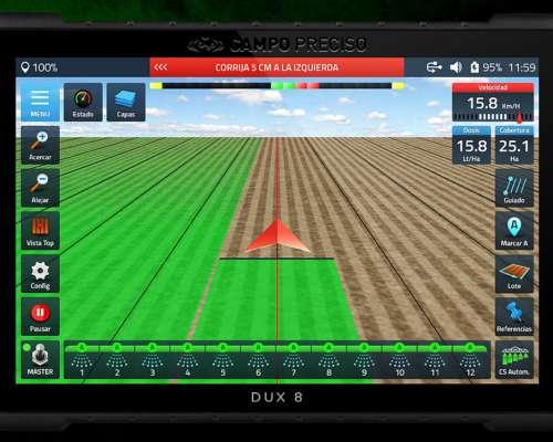 Display Inteligente de Agricultura de Precisión DUX 8